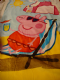 Peppa Pig character beach towel.